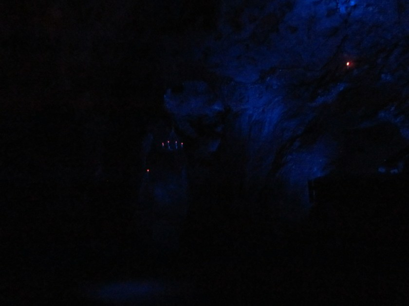 Matlock cave without flash