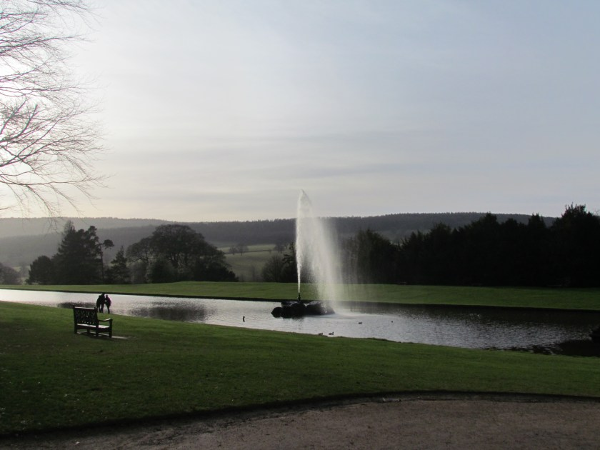 fountain at Chatsworth
