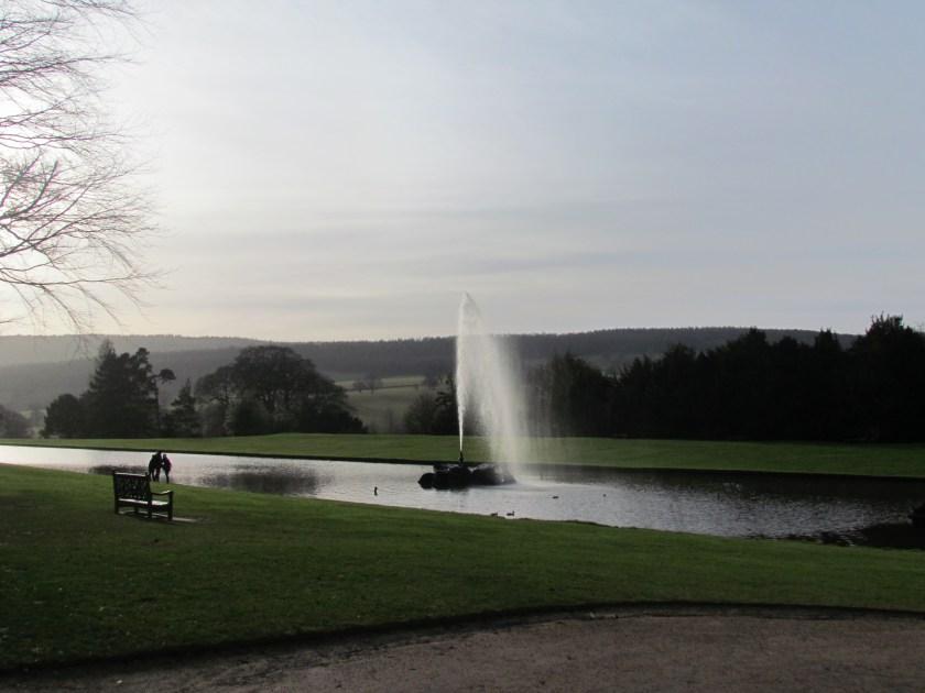fountain at Chatsworth