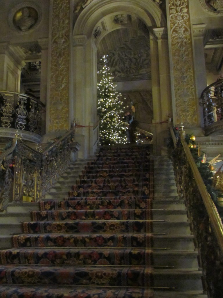 Chatsworth staircase