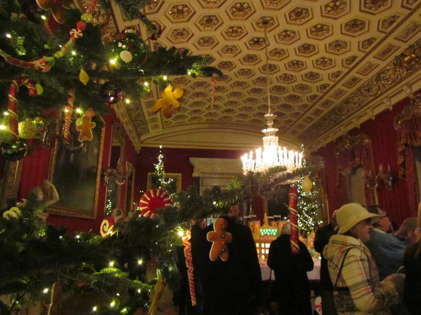 Christmas scene, Chatsworth