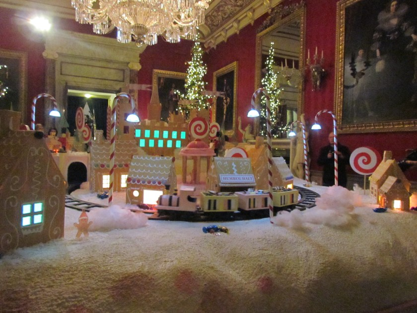 Gingerbread village Chatsworth