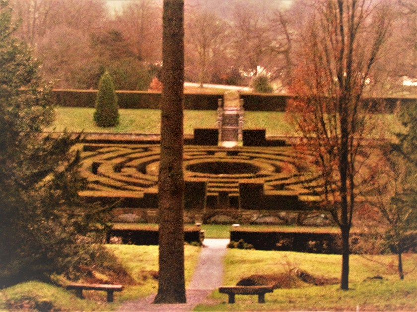 maze, chatsworth