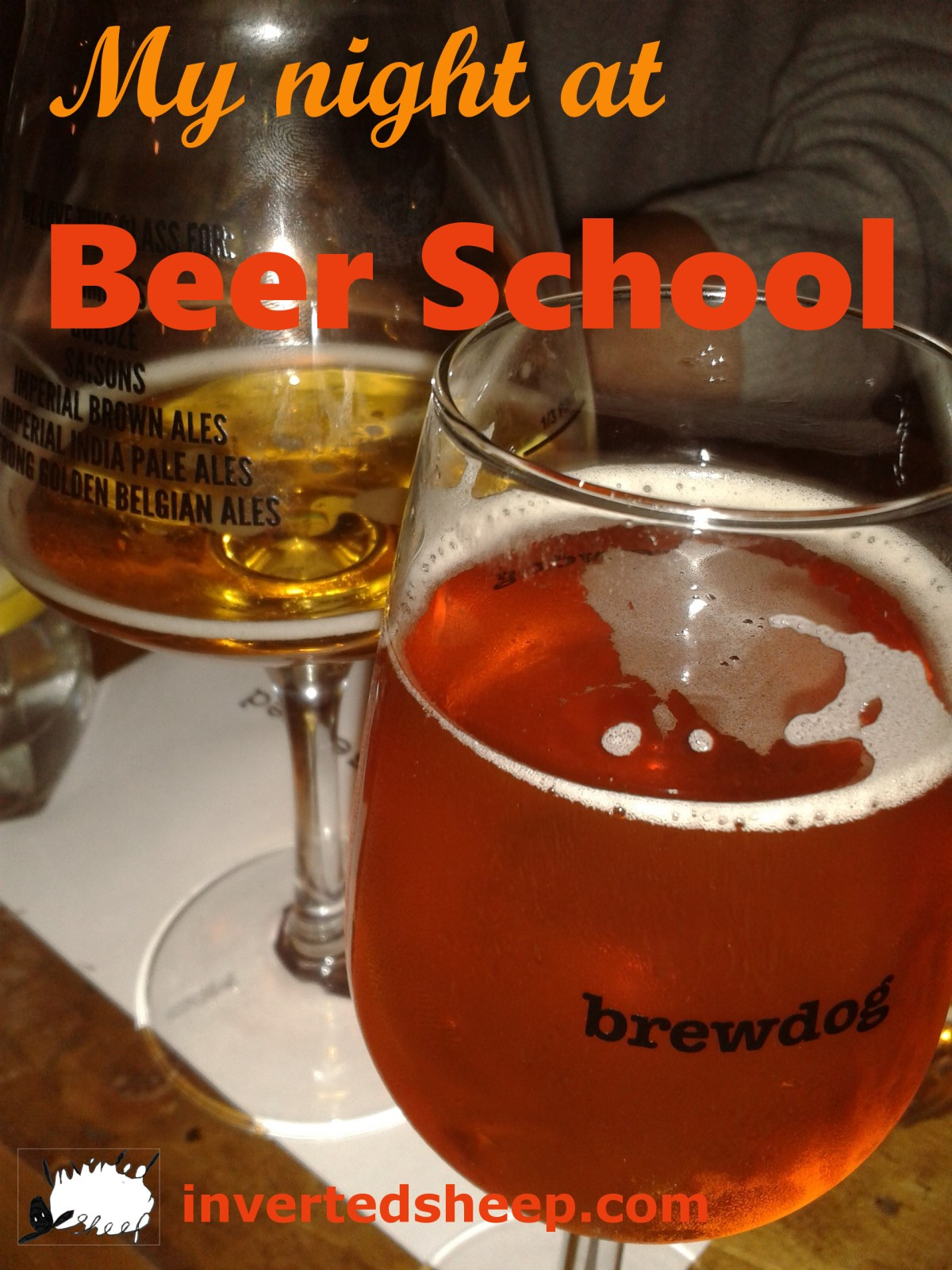 The Night I Went to Brewdog Beer School
