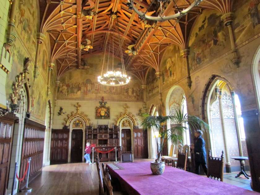 Cardiff Castle - dining room