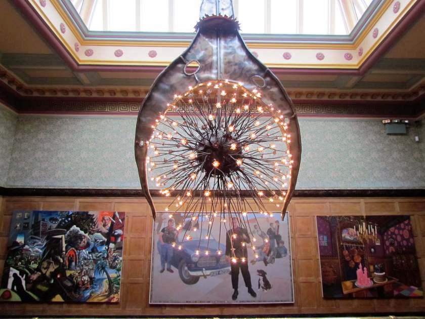 Wolverhampton Art Gallery - a rainy day in Wolverhampton