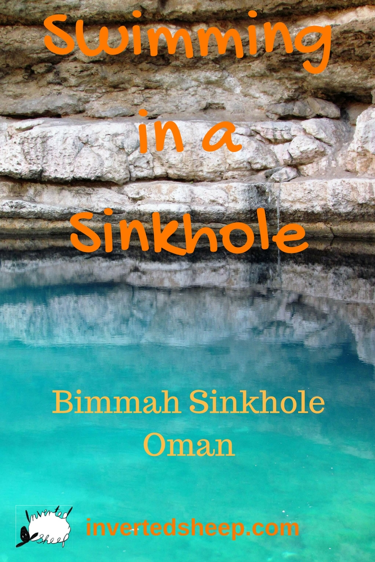 Swimming in a Sinkhole