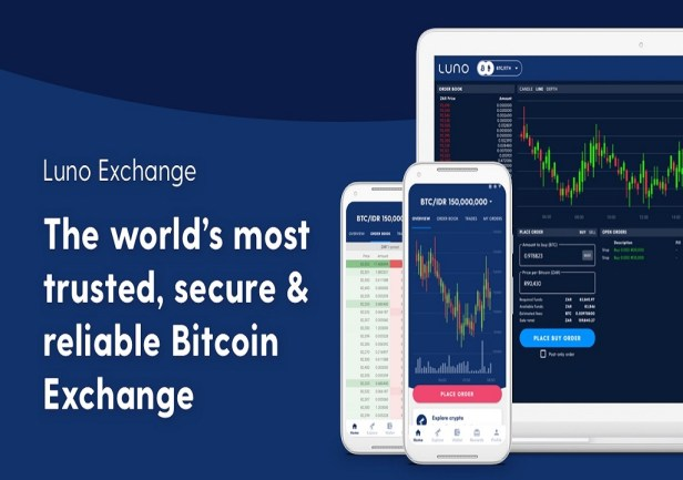 Referencia de como se ve el exchange Luno