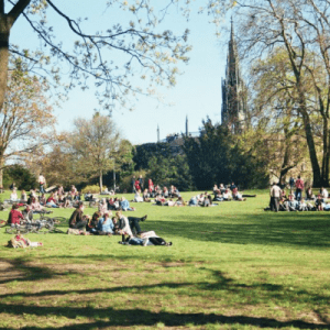 AB_Viktoria Park Kreuzberg on a sunny day