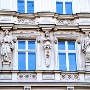 Kreuzberg details of old building berlin