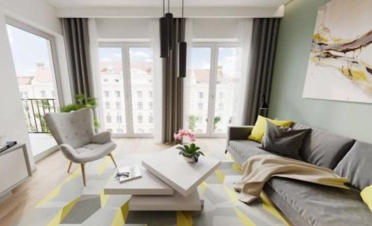 show apartment - living room