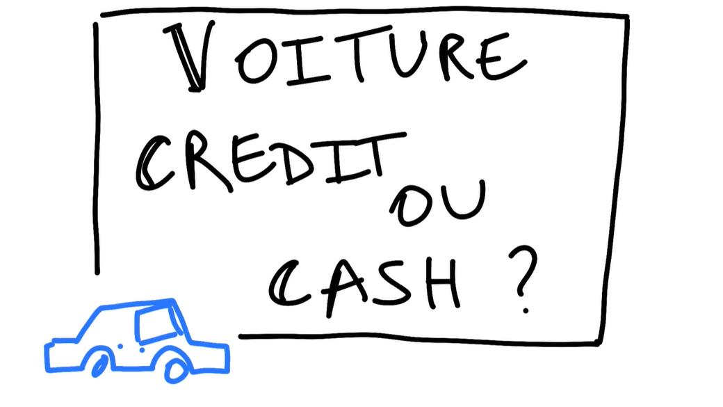 Acheter sa VOITURE : CASH ou à CREDIT?