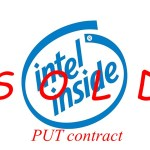 Selling Put Contracts- INTEL