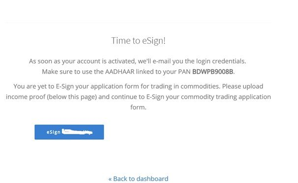 Time to eSign