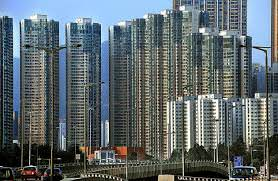 Hong Kong Property Sales Plummet