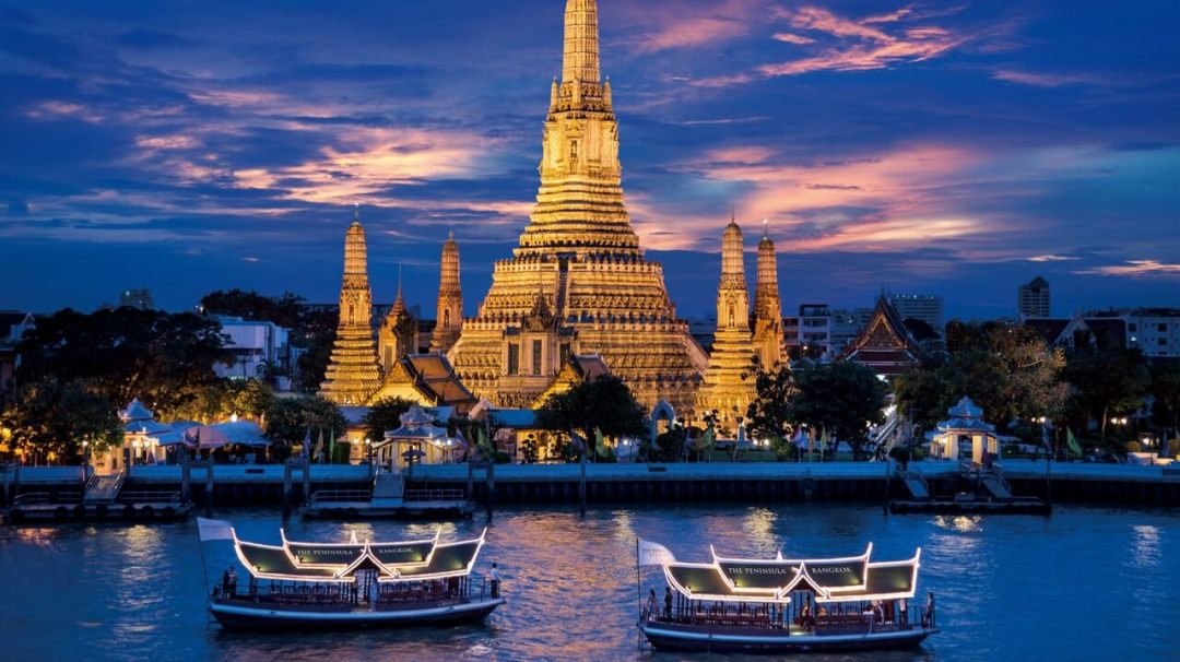 Thailand's capital of Bangkok is the most visited city in the world with over 20 million tourists annually.
