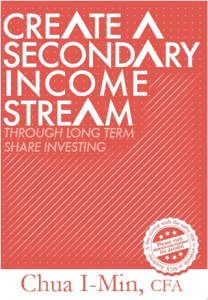 My first book on shares investing currently sold in major bookstores