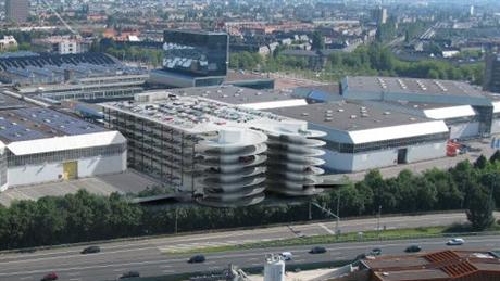 Parkeergebouw Amsterdam RAI