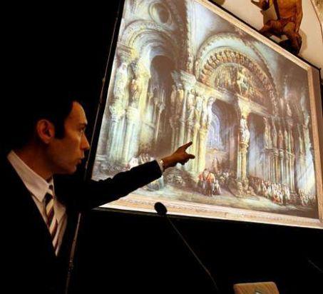 Conferencias divulgativas sobre la restauración del Pórtico de la Gloria