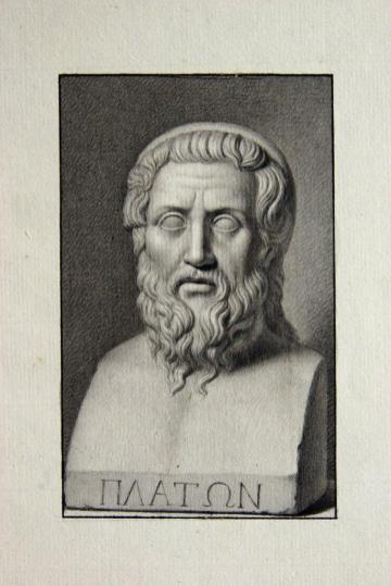Buenaventura Salesa- Homero, creído Platón por Azara.
