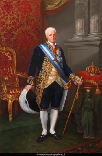 Carlos Espinosa- Carlos IV.