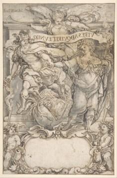Francisco Rizi: Portada del libro de Ramírez de Prado. Metropolitan Museum, Nueva York.