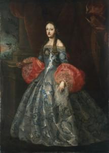 Anónimo español: Mariana de Neoburgo. Bilbao, Museo de Bellas Artes.