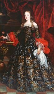 7. Claudio Coello, atribuido: Mariana de Neoburgo. Madrid, Patrimonio Nacional.