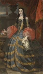8. Francisco Ignacio Ruiz de la Iglesia, atribuido: María Luisa de Orleans. Madrid, Museo Nacional del Prado.