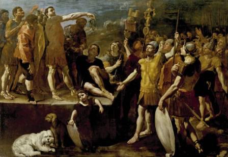 Giovanni Lanfranco: Alocución de un Emperador romano. Museo del Prado, Madrid.