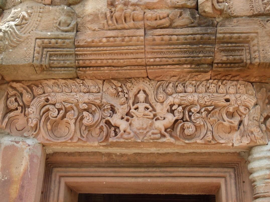 Relieve principal del dintel de la entrada de Phanom Rung