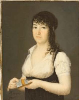 Rivero: Marquesa de Lazán. Museo Nacional del Prado, Madrid.
