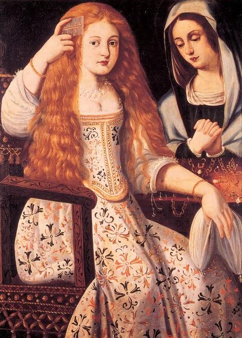 Anónimo: Retrato de María Inés Calderón, alias la Carderona. Descalzas Reales, Madrid.