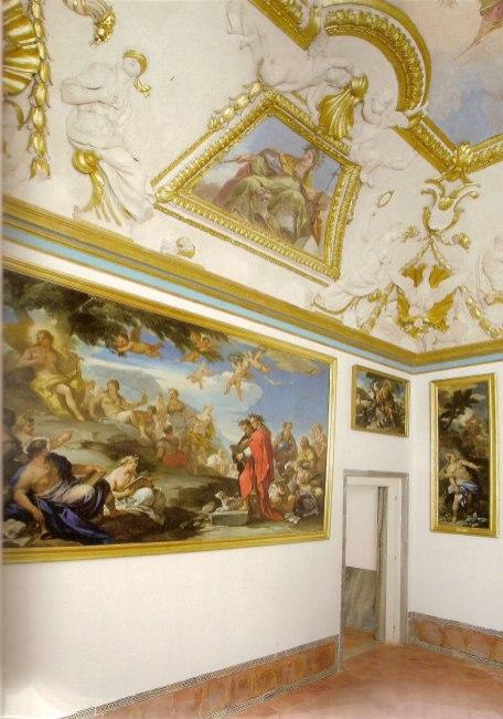 Vista en la actualidad del Despacho del Rey en el Palacio Real de Aranjuez.