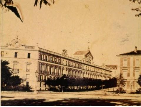 Palacio de los Duques de Medinaceli, derribado hacia 1864.