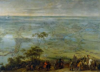 """Peter Snayers: """"Toma de Breda"""". Museo Nacional del Prado, Madrid."""