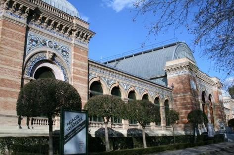 Palacio de Velázquez en el Parque del Buen Retiro, Ricardo Velázquez Bosco, 1881-1883.