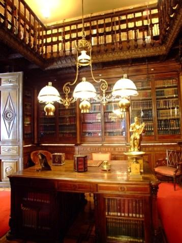 Biblioteca. Museo Cerralbo, Madrid.