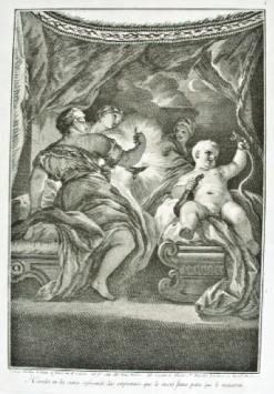 Hércules en la cuna sofocando las serpientes. Museo Cerralbo, Madrid.