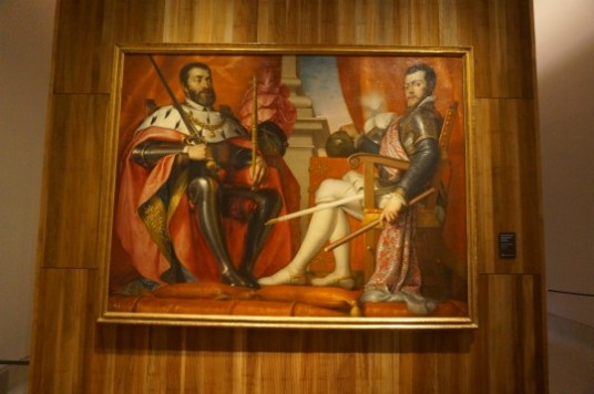 Antonio Arias: Carlos V y Felipe II, 1639-1640. Madrid, Museo de Historia de Madrid. Foto @Unsereno