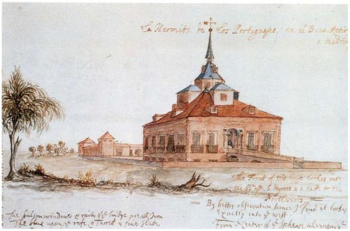 Anónimo: Ermita de San Antonio de los Portugueses en el Buen Retiro.