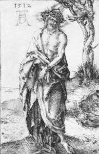 Alberto Durero: Cristo Doliente.