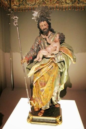 Luis Salvador Carmona: San José. Iglesia de San José de Madrid. Imagen tomada del blog Manuel Blas.