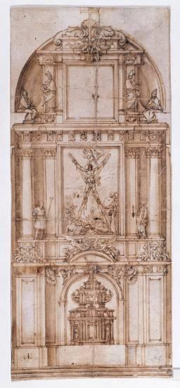 Alonso Cano: Retablo de San Andrés. Madrid, Museo Nacional del Prado.