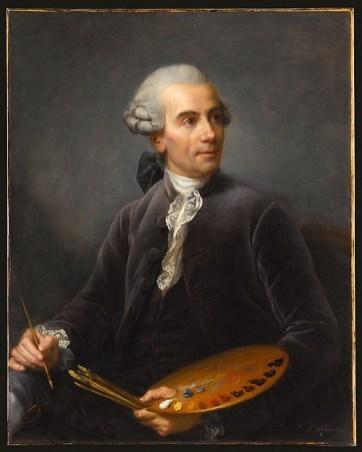 Élisabeth Louise Vigée Le Brun: Joseph Vernet, painter, 1778. Musée du Louvre, Paris. Inv. 3054. Photo: Jean-Gilles Berizzi.