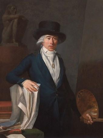 Jean Baptiste Pierre Le Brun: Autorretrato, 1795. Colección Particular.