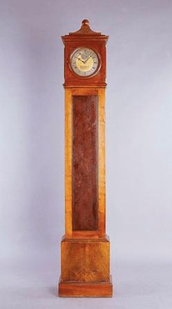 Reloj de caja alta de la Real Fábrica de Relojes de Madrid, 1788-1793