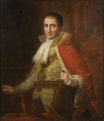 Josée Flaugier: Retrato de José I. Museo Nacional de Arte de Cataluña.
