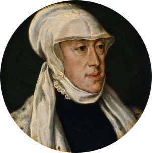 Anónimo, según Tiziano: María de Hungría, ca.1550-60. Amsterdam. Rijkmuseum