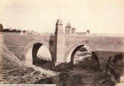 J. Laurent: Puente de la Rambla en Elche. Fondo IPHE.